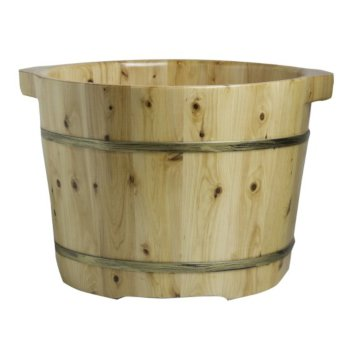 Cedar Foot Soaking Tub Product View