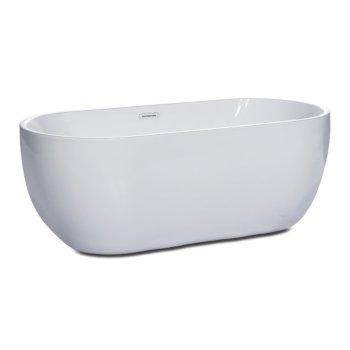 Soaking Bathtub Angle View