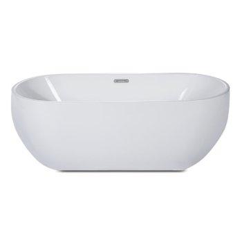 Soaking Bathtub Front View