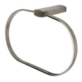 Brushed Nickel Towel Ring