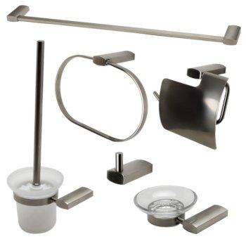 Brushed Nickel 6-Piece Set