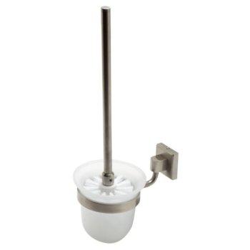 Brushed Nickel Toilet Brush