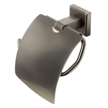 Brushed Nickel Toilet Paper Holder