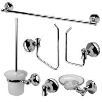 Polished Chrome 6-Piece Set