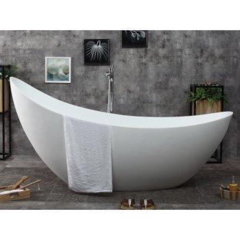 Slipper Bathtub Front View