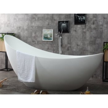 Slipper Bathtub Illustration