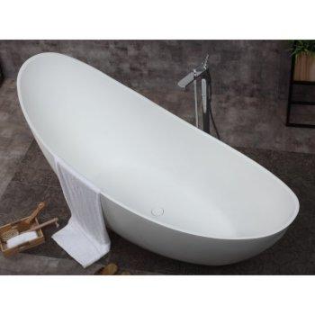 Slipper Bathtub Overhead View