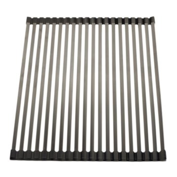 "Alfi brand 18"" x 13"" Modern Stainless Steel Drain Mat for Kitchen, 17-5/16"" W x 12-1/4"" D x 5/16"" H"