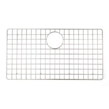 "ALFI brand GrId For AB3322DI and AB3322Um in Brushed Stainless Steel, 26-3/4"" W x 14-3/16"" D x 1"" H"