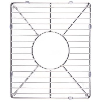 """Alfi brand Stainless Steel Kitchen Sink Grid for Small Side of AB3618DB. AB3618ARCH, 13-1/4"""" W x 11"""" D x 1"""" H"""