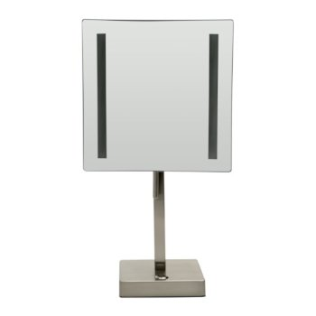 """8"""" Brushed Nickel Front View"""