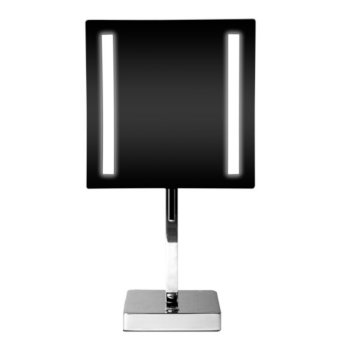 """8"""" Polished Chrome Lighted Front View"""