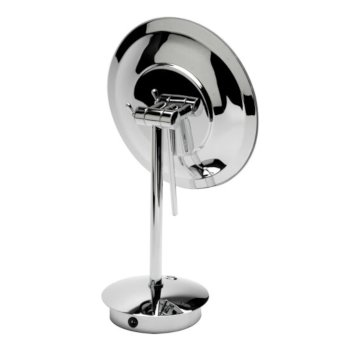 "9"" Polished Chrome Back View"
