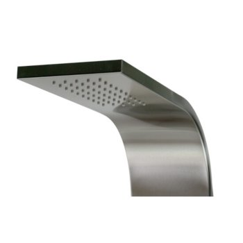 Brushed Stainless Steel Showerhead View