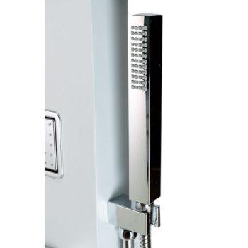 White Handheld Showerhead View