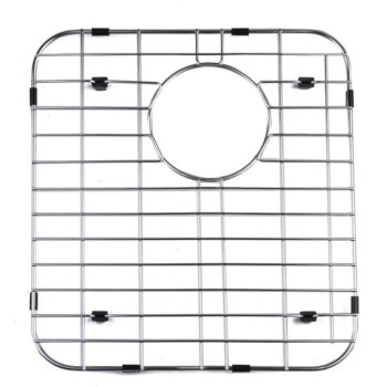 "Alfi brand Left Side Solid Stainless Steel Kitchen Sink Grid, 13-3/4"" W x 15"" D x 1"" H"