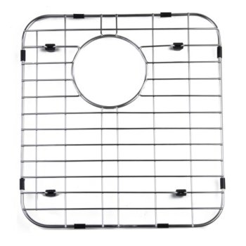 "Alfi brand Right Solid Stainless Steel Kitchen Sink Grid, 13-3/4"" W x 15"" D x 1"" H"