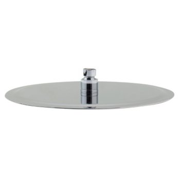"Alfi brand Solid Polished Stainless Steel 12"" Round Ultra Thin Rain Shower Head, 12"" Diameter x 1/8"" H"