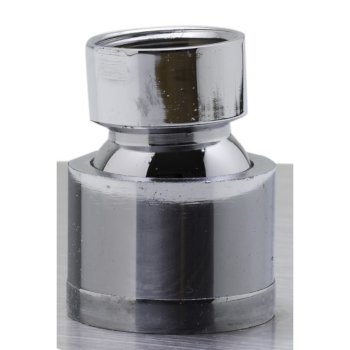 """12"""" Polished Stainless Steel Product View - 1"""