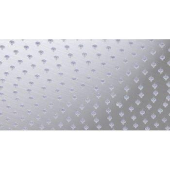 "Alfi brand Solid Brushed Stainless Steel 16"" Round Ultra Thin Rain Shower Head, 16"" Diameter x 1/8"" H"
