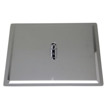 """16"""" Polished Stainless Steel Product View - 4"""