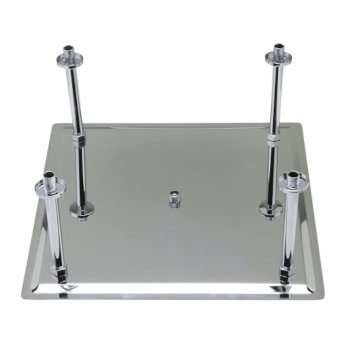 """20"""" Polished Stainless Steel Product View - 2"""