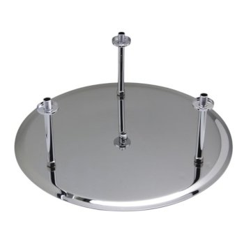 """24"""" Polished Stainless Steel Product View - 2"""
