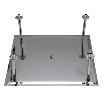 """24"""" Polished Stainless Steel Product View - 3"""