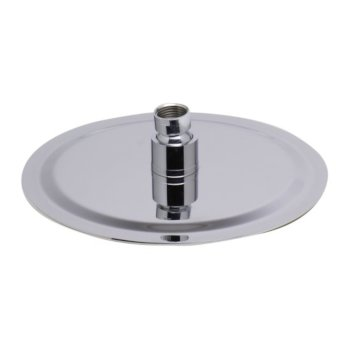 """8"""" Polished Stainless Steel Product View - 1"""