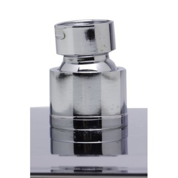 """8"""" Polished Stainless Steel Product View - 2"""