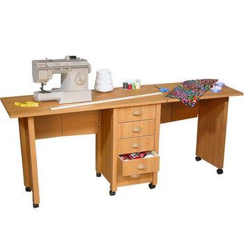 Double Mobile Desk & Craft Center