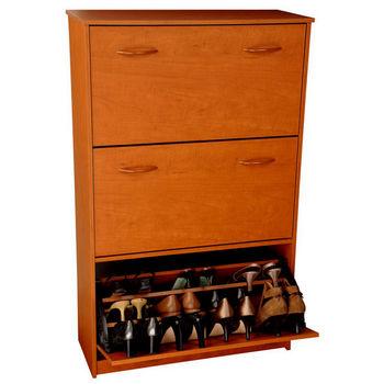 Triple Shoe Cabinet