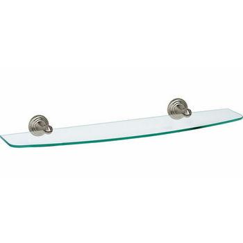"Alno Regency Series 18"" Glass Shelf"