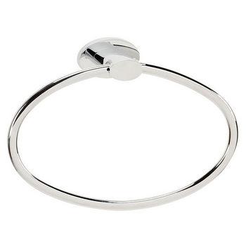 Alno Towel Ring, Polished Chrome