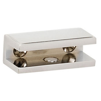 Alno Arch Series Shelf Brackets Only, Pair, Polished Chrome