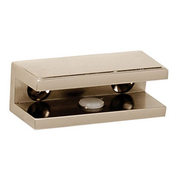 Alno Arch Series Shelf Brackets Only, Pair, Polished Nickel