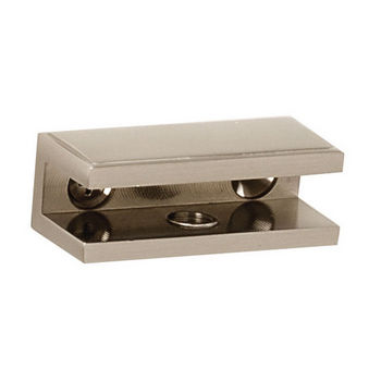Alno Arch Series Shelf Brackets Only, Pair, Satin Nickel