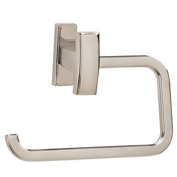 Alno Arch Series Single Post Bath Tissue Holder, Polished Nickel