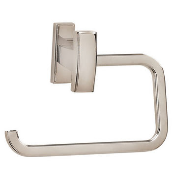 Alno Arch Series Single Post Bath Tissue Holder, Satin Nickel