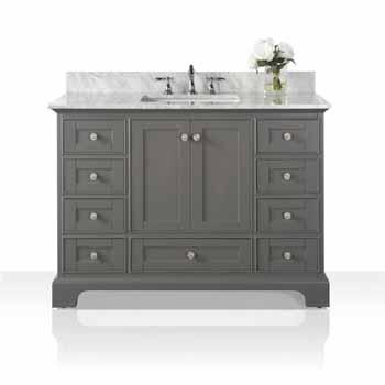 Sapphire Gray / Italian Carrara Top - Display View