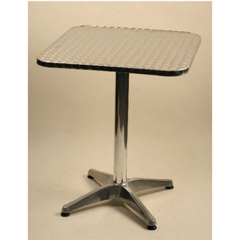 Flip Top Aluminum Bar Height Tables by Alston