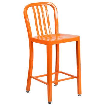 Counter Height- Orange