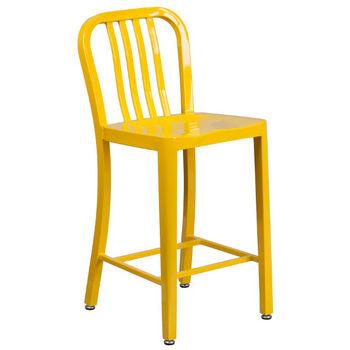 Counter Height- Yellow