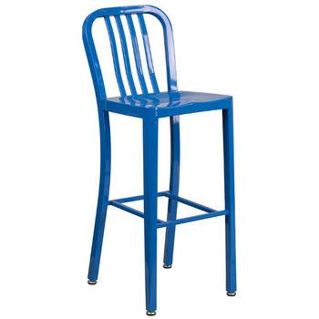 Bar Height- Blue