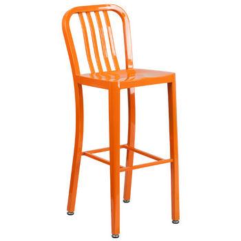 Bar Height- Orange