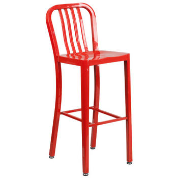 Bar Height- Red
