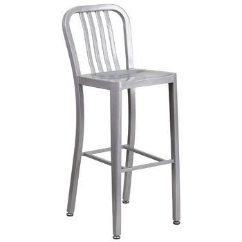 Bar Height- Silver
