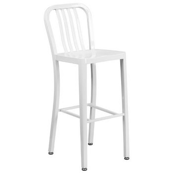 Bar Height- White