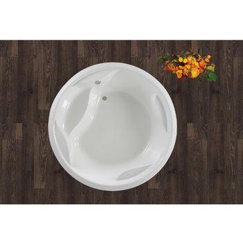 Aquatica Allegra™ Freestanding Acrylic Bathtub, High Gloss White