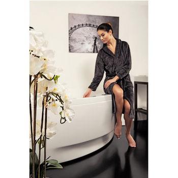 Aquatica Olivia™ Relax Air Massage Corner Bathtub, High Gloss White